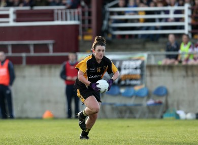 Doireann O'Sullivan played an influential role in the Munster final today (file pic).