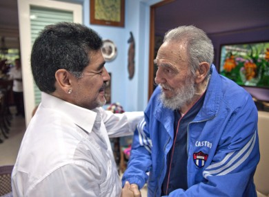 Castro passed away at the age of 90.
