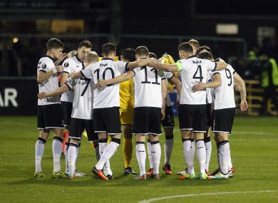 Dundalk have enjoyed success domestically and in Europe this season.