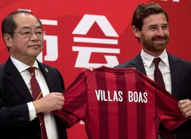 Shanghai SIPG coach Andre Villas-Boas will earn a tidy penny.