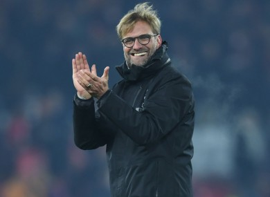 Liverpool manager Jurgen Klopp expects teams to be defensive against his side.
