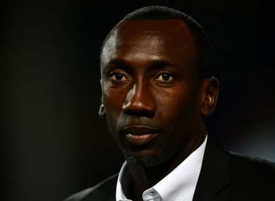 Former QPR manager Jimmy Floyd Hasselbaink