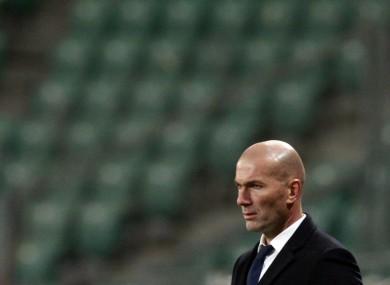 Zinedine Zidane (file pic).