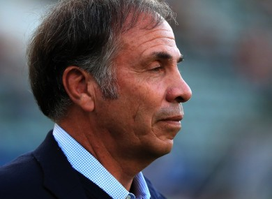 65-year-old Bruce Arena.