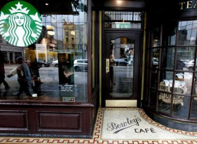 Starbucks in Temple Bar: a branch in Swords has found to have no planning permission.