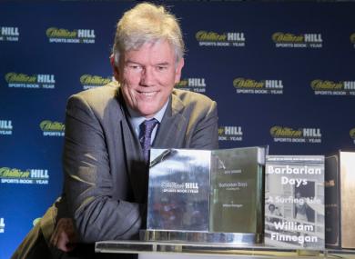 Award-winning author William Finnegan.