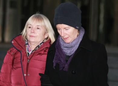 Bernadette Scully (right)