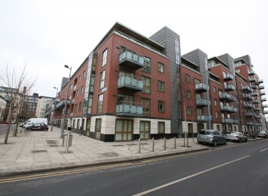 Longboat Quay Apartments in Dublin.