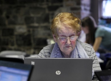 Some events like Dublin Digital Day (pictured) and Age Action teach older generations how to use technology, but not everyone has access to these classes.