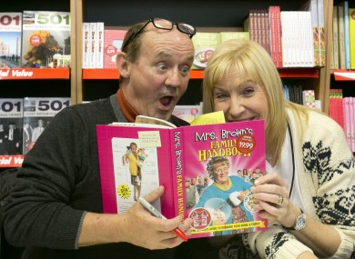 Brendan and Jenny O'Carroll