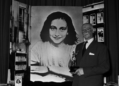 who was anne frank who was