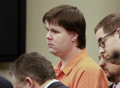 Justin Ross Harris in court