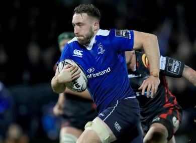 Conan is willing to fight for his place at Leinster.