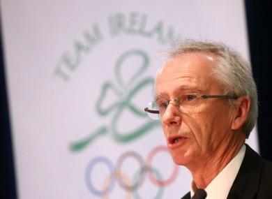 Sport Ireland CEO John Treacy.