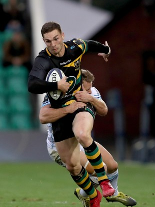 George North has been stood down by his club.