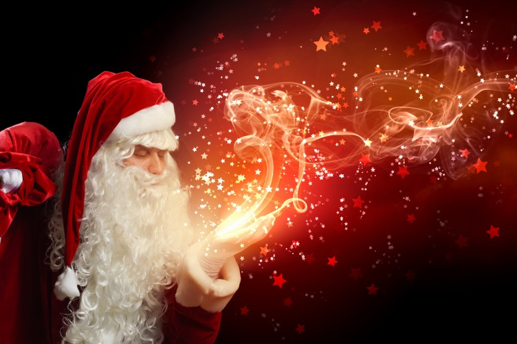 hypocrisy should atheists lie to their children about santa claus - Santa Claus Red