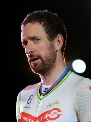 Great Britain's Sir Bradley Wiggins during day four of the Six Day Event at Lee Valley Velopark, London last October.