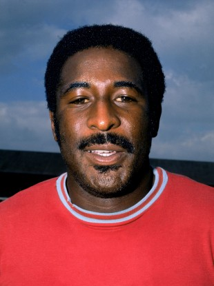 Then-West Ham star Clyde Best pictured in 1973.