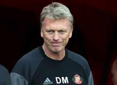 Moyes failed to see out his single season in charge at Old Trafford.