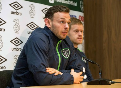 Andy Boyle is waiting for his debut at Preston North End.