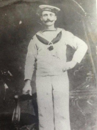 Martin Moloney, who as a crew member on board the SS Laurentis before it sank.