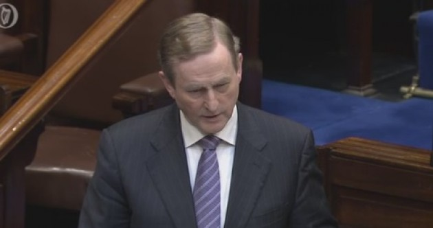"""""""We were those immigrants"""": Enda says those with dual-citizenship should show their Irish passport"""