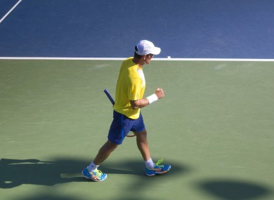 McGee: qualified for the US Open main draw in 2014 (file photo).
