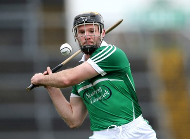 Limerick captain James Ryan.
