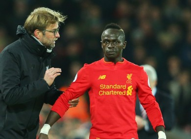 Klopp and Mane.