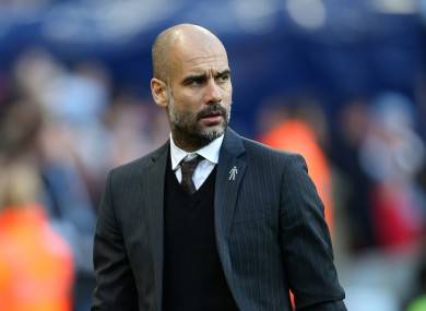 Pep Guardiola has hinted he could retire from football in a few years.