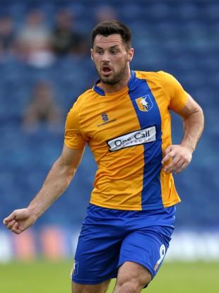 Mansfield Town striker Pat Hoban.
