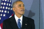 'We've really been milking this goodbye' - Obama makes final speech before heading on holiday