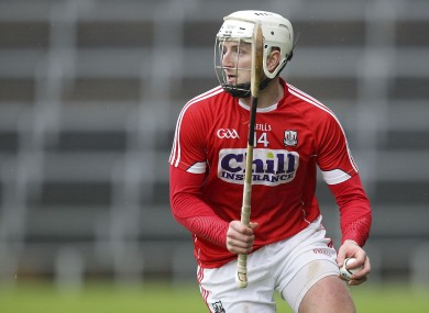 Pa Horgan in possession for Cork against Limerick last Sunday.