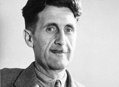 Author of 1984, George Orwell.