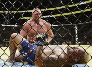 Lesnar: earned $2.5m for win against Hunt but failed doping tests before and after the fight.