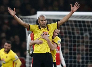 Watford defender Younes Kaboul