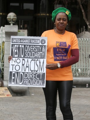 Ellie Kisyombe, who said the rise in deportations was worrying and stressful for asylum seekers.
