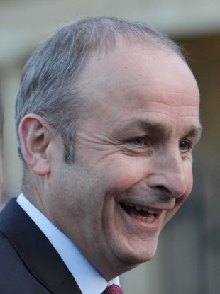 Micheál Martin is the most popular leader of a political party in the country right now, according to poll.