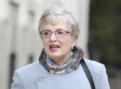 Children's Minister Katherine Zappone.