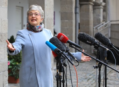 Minister for Children, Katherine Zappone.