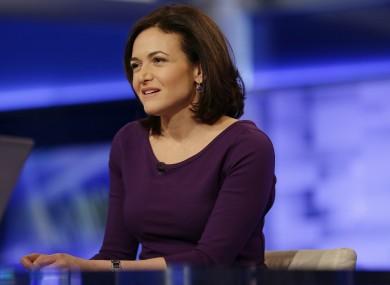 Sheryl Sandberg, COO at Facebook