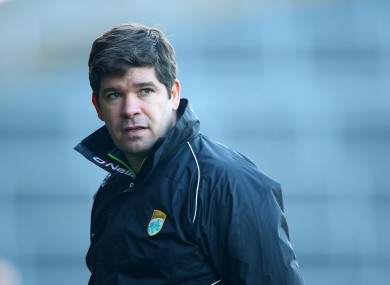 Kerry manager Eamonn Fitzmaurice.