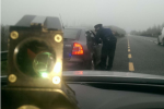 Gardaí caught a driver going 148kph on a foggy 100kph stretch of road this morning