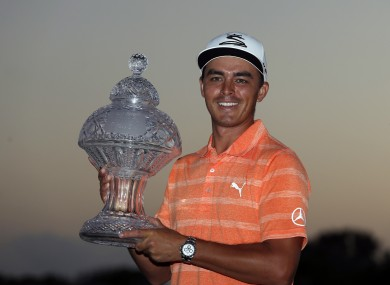Fowler with his first title since September 2015.
