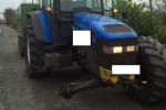 Gardaí seize tractor found driving on three wheels