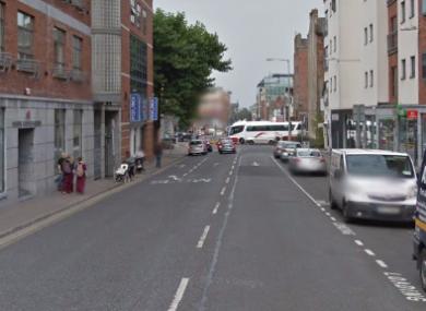 Henry Street in central Limerick.