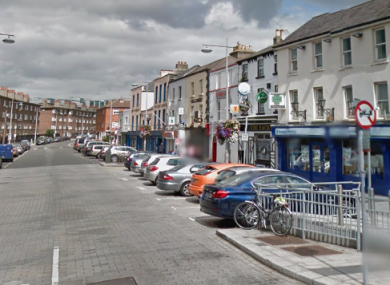 The incident happened on Thorncastle Street in Ringsend.