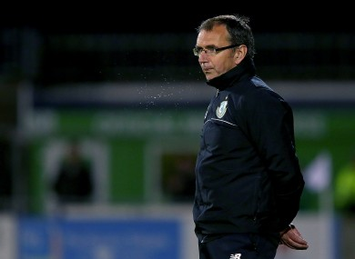 Bad start for Waterford's new director of football Pat Fenlon (file pic).
