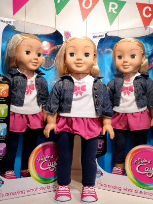 The My Friend Cayla Doll is a very popular children's toy.