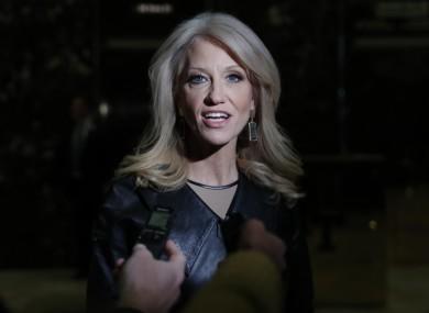 Senior Trump aide, Kellyanne Conway.